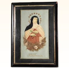 Reliquary Saint Theresa of Avila German Devotional Object