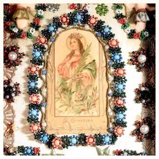 Convent Work Saint Catherine of Alexandria Show Case