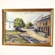 Nice Landscape Signed R. Lebrun about 1900