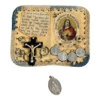 Touching Devotional Object Pilgrimage Souvenir Ireland