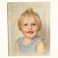 Portrait of a Girl – What a lovely face! Ca. 1920