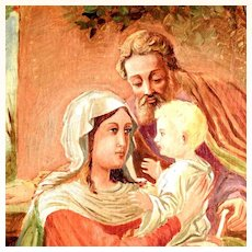 Religious Oil Painting of the Holy Family