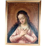 Touching Religious Painting Mary Magdalene