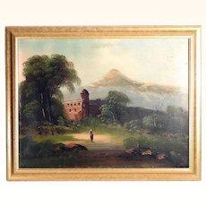 Beautiful Alps Landscape ca. 1880