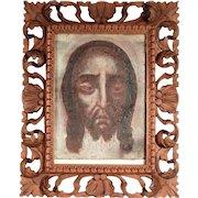 18th Century Holy Face Sudarium Veil of Veronica
