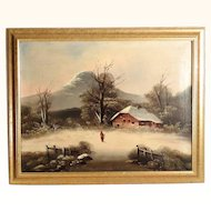 Snowy Landscape ca. 1880