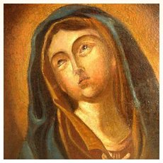 18th Century Saint Mary Magdalene Old German Master