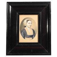 Early 19th Century Era Portrait of a Lady
