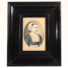Early 19th Century Era Portrait of a Lady