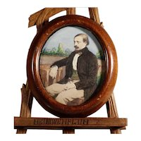 Miniature Painting of Gentleman Excellent Done