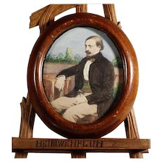 Miniature Painting of Gentleman Excellent Done