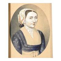 19th Century Excellent Portrait of a Lady