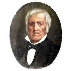 19th Century Portrait of an Aged Gentleman