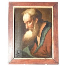 18th Century Excellent Portrait of an Aged Bearded Man