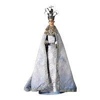 Rare Procession Madonna Santo Spain 1800's
