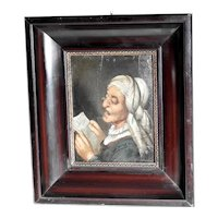 Portrait of an Aged Women Early 19th Century