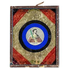 Rare Reliquary Saint Agatha of Sicily