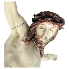 Large Jesus Body Hand Carving