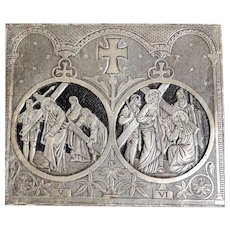Unique French Reliquary Stations of the Cross