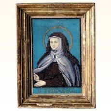 Stunning Sampler Saint Therese Excellent Beadwork