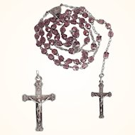Delicate Rosary Art Nouveau Era
