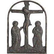 Bronze Icon Calvary