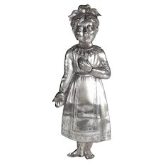 Old Votive Offering Ex-Voto Young Girl