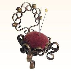 Vintage Pincushion Chair Shape