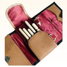 Sewing Etui Bone Tools ca. 1900/1920