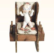 Darling Pin Cushion Bobbin Holder with Doll