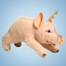 Sweet Little Pig Steiff Toy Jolanthe