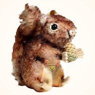 Steiff Squirrel with Nut Perri