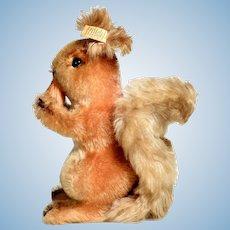 Possy Darling Steiff Squirrel with Nut