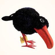 Darling Wool Miniature Steiff Raven ca. 1960