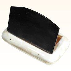 Fine Horn Bicolor Snuff Box ca. 1900