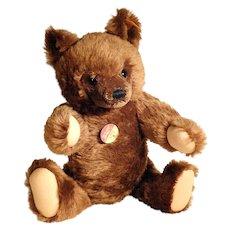 Large Steiff Teddy Chocolate Brown Bear #0206/41