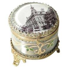 Lovely Art Nouveau Trinket Box Early 1900