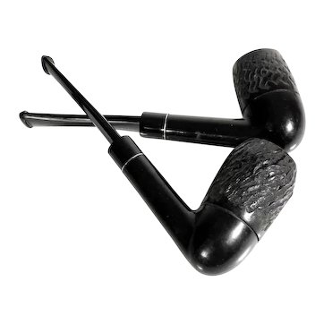 Pair of Vintage Pipes Made in Sweden