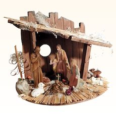 Lovely Christmas Crib from a Convent with Touching Story