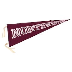 "Northwestern University Purple Wool Pennant by Collegiate, 35.5"" Long"