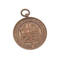 English Amateur Gymnastic Assoc. Bronze Medal 1926-27