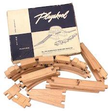 Skaneateles Playskool No 910 Wood Train in Box