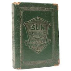 Book Bank Sun Life Insurance Company Baltimore Maryland by Zell NO KEY