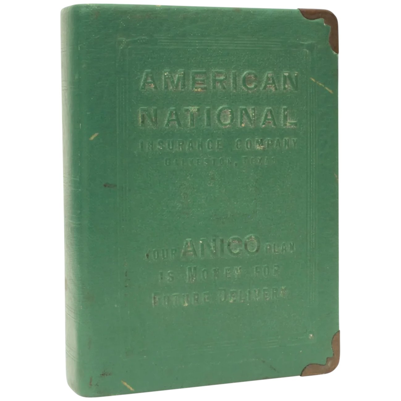 Book Bank Galveston Texas American National Insurance Adverting By Industrial Blonde Ruby Lane