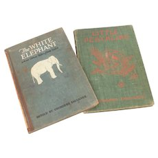 Volland Illustrated Childrens Books White Elephant & Little Peachling by Faulkner