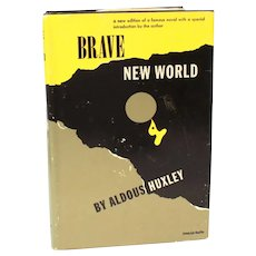 Brave New World by Aldous Huxley 1946 First American Book Club Edition, 1st BCE, Hardback with Dust Jacket