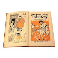 1930 Wind Blown Stories by Ethel and Frank Owen, Illustrated Hardback Children's Book