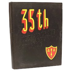 35th Antiaircraft Artillery Brigade 1954-1955 Military Yearbook