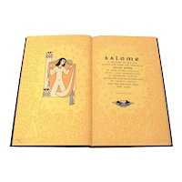 1945 Salome A Tragedy in One Act by Oscar Wilde, Heritage Press, Illustrated Hardback Book in Slipcase