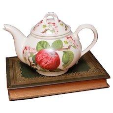 Portmeirion Pomona Teapot Hoary Morning Apple, 5-6 Cup Tea Pot, Made in England Orange Mark